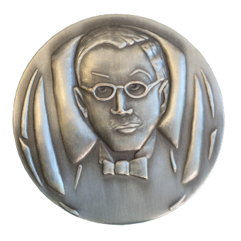 Médaille CREDIT MUTUEL ARGENT (ref medfr026)