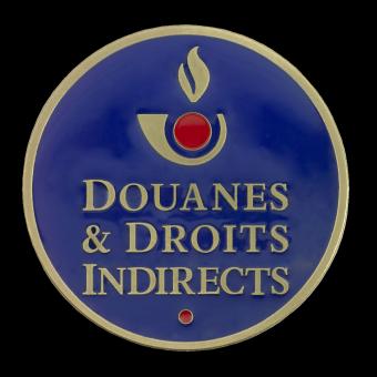 Médaille DOUANES (ref medfr028)