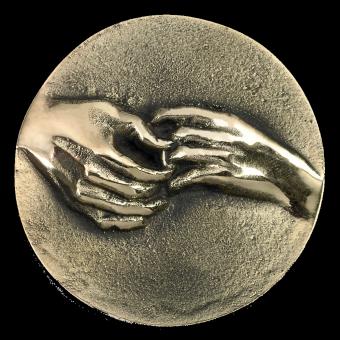 Médaille MARIAGE (ref medfond029)