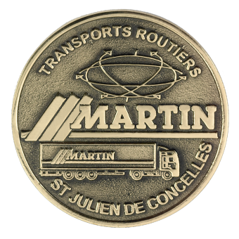 Médaille MARTIN (ref medfond030)