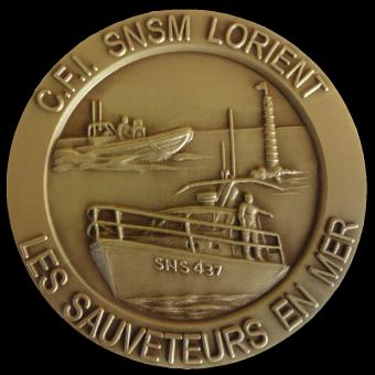 Médaille SNSM LORIENT (ref medfr014)