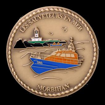 Médaille SNSM MORBIHAN (ref medfr032)