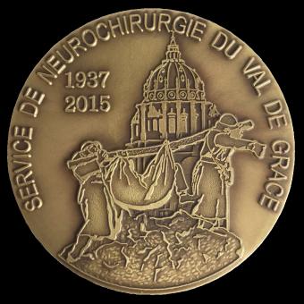 Médaille en bronze MEDFR044 VAL DE GRACE
