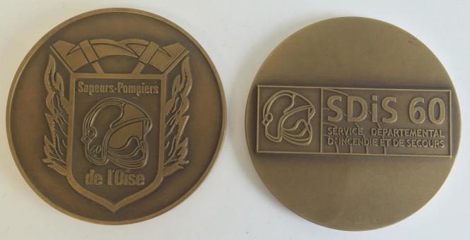 Médaille MEDFR047 SDIS DE L'OISE