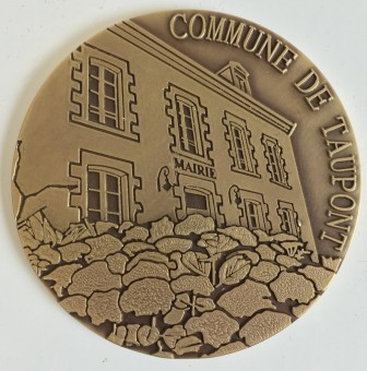 Médaille en bronze MEDFR048 MAIRIE TAUPONT