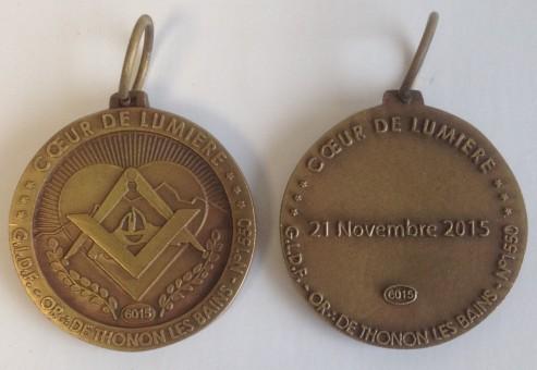 Médaille MEDFR065 GLDF THONON LES BAINS