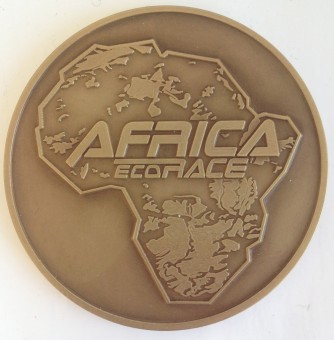 Médaille MEDFR069 AFRICA ECO RACE2