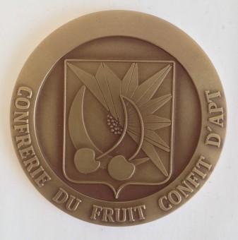Médaille MEDFR071 CONFRERIE FRUIT CONFIT D'APT