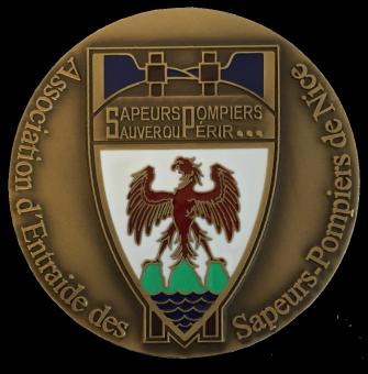 Médaille POMPIERS NICE