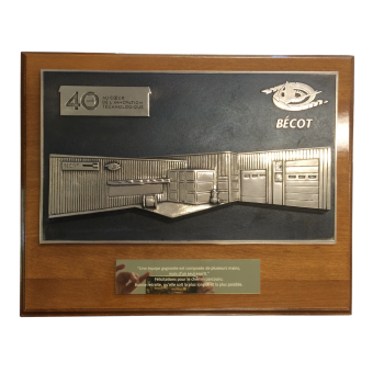 Plaque BECOT (ref 9033)