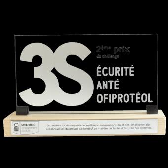 Trophée 3S ALTUGLAS