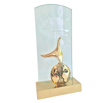 Trophée CONCOURS LEPINE (ref 183)