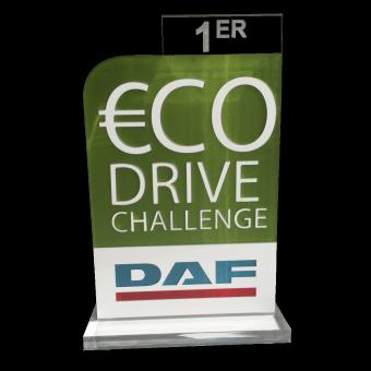 Trophée DAF ECO DRIVE (ref 9038)