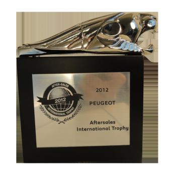 Trophée LION PEUGEOT 1933 (ref 827)