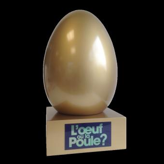 Trophee OEUF OU LA POULE (ref 935)