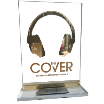 Trophée THE COVER (ref 9052)