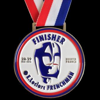 Médailles FRENCHMAN TRIATHLON