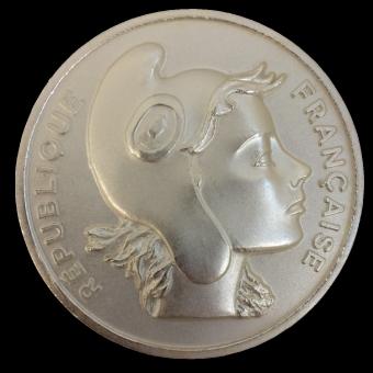 Médaille bronze MEDFR138 MARIANNE ARGENT