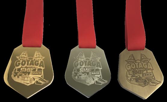Médaille en bronze Massif sur mesure GOTAGA
