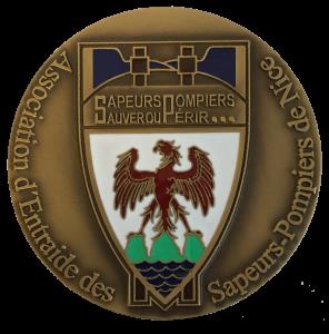 Médaille personnalisée estampée en Bronze massif
