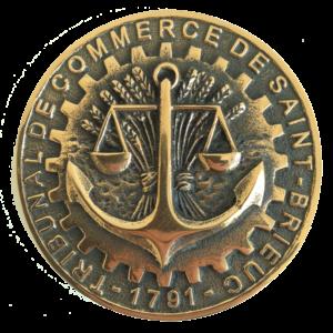 Médaille TRIBUNAL DE COMMERCE DE ST BRIEUC